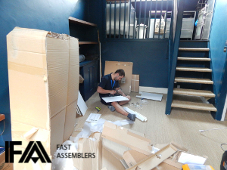 flat pack furniture collection and delivery services