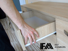 flat pack furniture assembly and disassembly